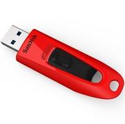 USB ključ SanDisk Ultra, 32 GB, rdeč