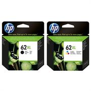 Komplet kartuš HP nr.62XL (BK + CMY), original