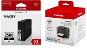 Komplet kartuš Canon PGI-2500XL (BK/C/M/Y) + PGI-2500XL BK (črna), original