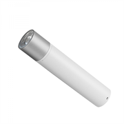 Prenosna LED svetilka Xiaomi Mi Power Bank Flashlight, 3250 mAh, bela