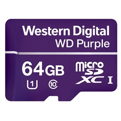 Spominska kartica WD Purple Micro SD, 64 GB