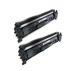 Komplet tonerjev za HP CF217A 17A (črna), dvojno pakiranje, kompatibilen