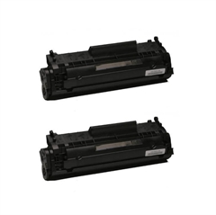 Komplet tonerjev za Canon CRG-703 (7616A005) (črna), dvojno pakiranje, kompatibilen