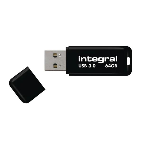USB ključ Integral Black, 64 GB