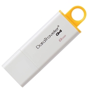 USB ključ Kingston DTIG4, 8 GB, bela/rumena