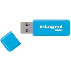 USB ključ Integral Neon, 16 GB, moder