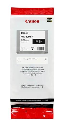 Kartuša Canon PFI-320MBK (matt črna), original