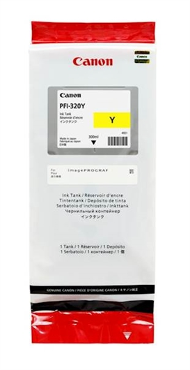 Kartuša Canon PFI-320Y (rumena), original