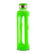 Steklenica za vodo s silikonskim ovojem 500 ml, zelena