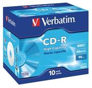 CD-R medij Verbatim 800 MB/90min 40x, 10 kosov