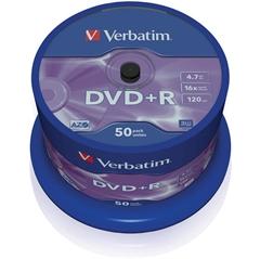 DVD+R medij Verbatim 4,7GB, 16x, 50 kosov