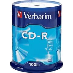 CD-R medij Verbatim 700MB/80min 52x, 100 kosov