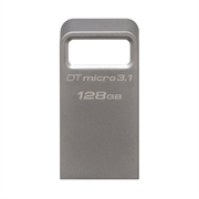 USB ključ Kingston DTMC3, 128 GB, srebrn, micro format