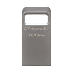 USB ključ Kingston DTMC3, 128 GB, srebrn, micro format
