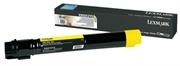 Poškodovana embalaža: toner Lexmark X950X2YG (rumena), original
