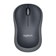 Miška Logitech M185 Wireless, črna, brezžična, mini