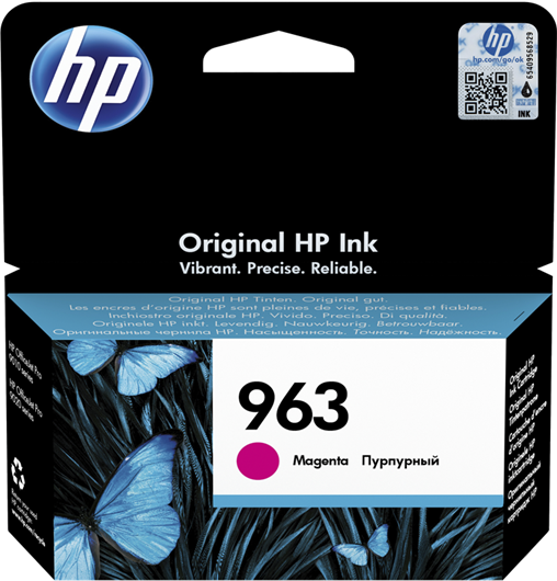 Kartuša HP 3JA24AE nr.963 (škrlatna), original