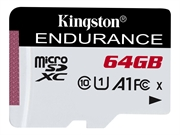 Spominska kartica Kingston micro SDXC High Endurance, 64 GB