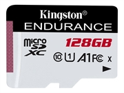 Spominska kartica Kingston micro SDXC High Endurance, 128 GB