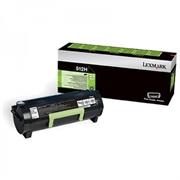 Poškodovana embalaža: toner Lexmark 51F2H00 (črna), original