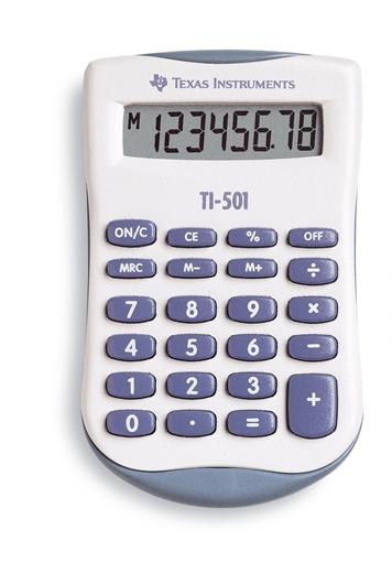 Kalkulator Texas Instruments TI-501, žepni