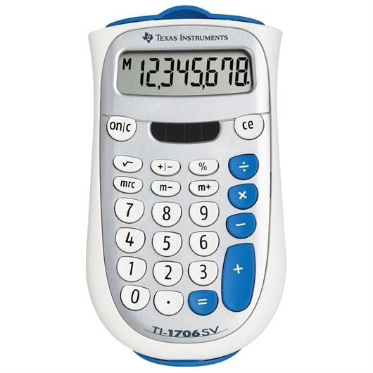 Kalkulator Texas Instruments TI-1706 SV, žepni