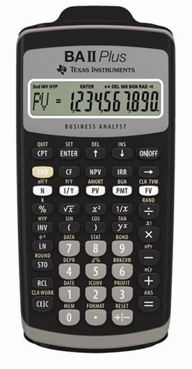 Kalkulator Texas Instruments BA II PLUS