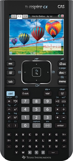 Grafični kalkulator Texas Instruments TI-Nspire CX EN