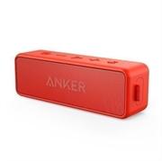 Prenosni zvočnik Anker Soundcore 2 x 6W IPX5, Bluetooth, rdeč