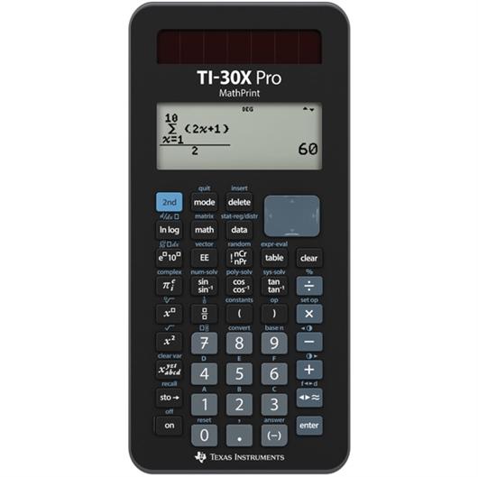 Tehnični kalkulator Texas Instruments TI-30X Pro Mathprint