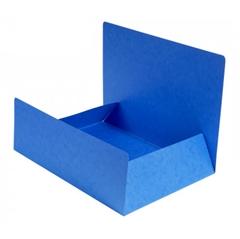 Mapa prešpan s klapo A4, modra