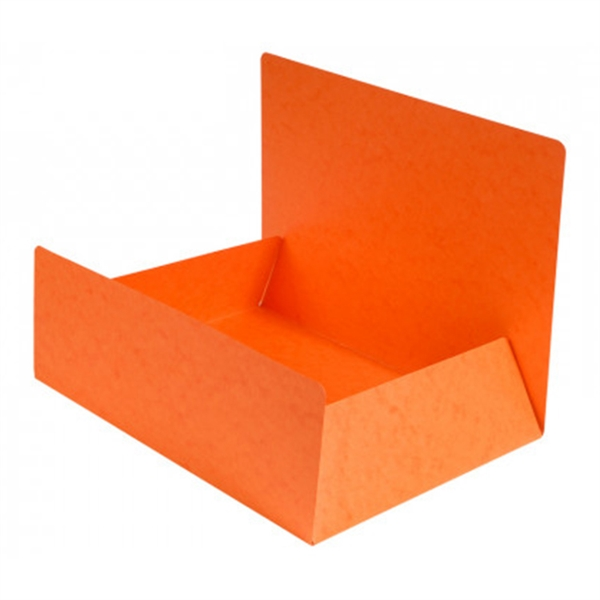 Mapa prešpan s klapo A4, oranžna