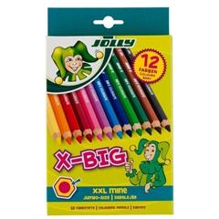 Barvice Jolly X-Big, 12 kosov