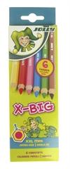 Barvice Jolly X-Big, 6 kosov