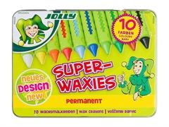 Voščene barvice Jolly Superwaxies Classic Permanent