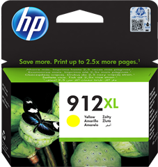 Kartuša HP 3YL83AE nr.912XL (rumena), original