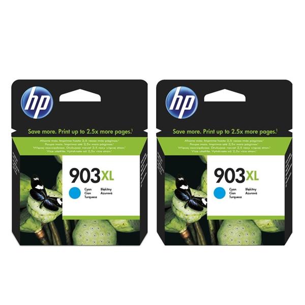 Kartuša HP T6M03AE nr.903XL (modra), dvojno pakiranje, original