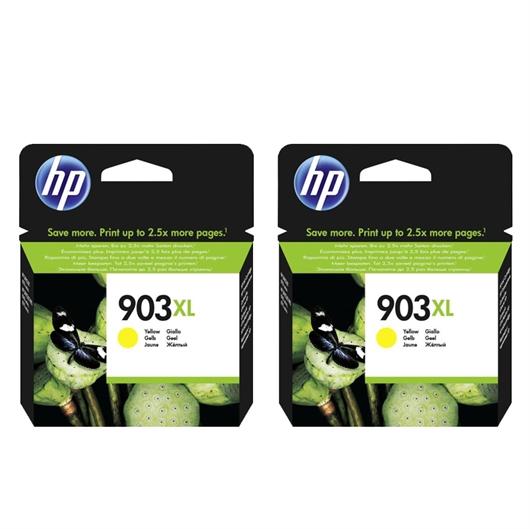 Kartuša HP T6M11AE nr.903XL (rumena), dvojno pakiranje, original