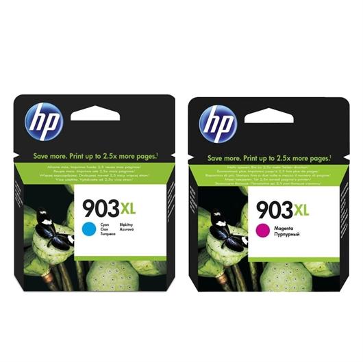 Kartuša HP nr.903XL (modra + škrlatna), dvojno pakiranje, original