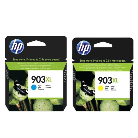 Kartuša HP nr.903XL (modra + rumena), dvojno pakiranje, original