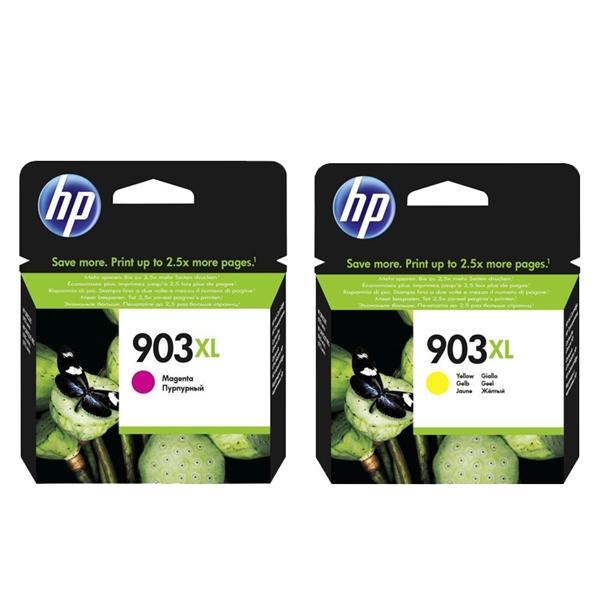 Kartuša HP nr.903XL (škrlatna+ rumena), dvojno pakiranje, original