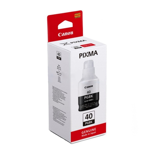 Črnilo za Canon GI40B (3385C001AA) (G6040/G5040/GM2040) (črna), original