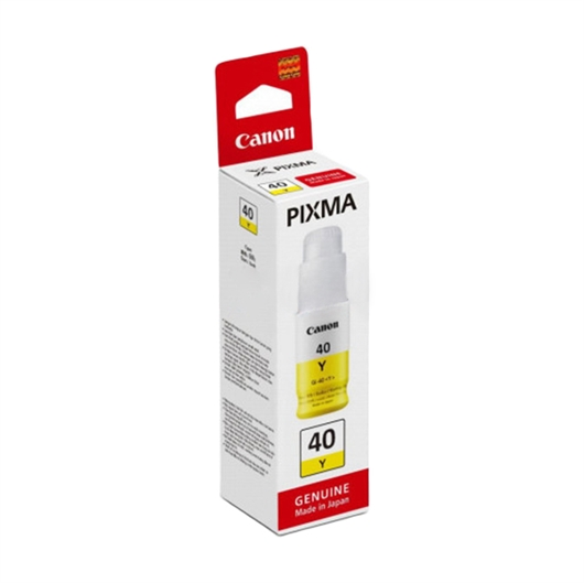 Črnilo za Canon GI40Y (3402C001AA) (G6040/G5040/GM2040) (rumena), original