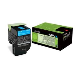 Poškodovana embalaža: toner Lexmark 80C2HCE (modra), original