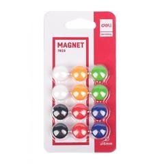 Magneti Deli, fi-15 mm, 12 kosov