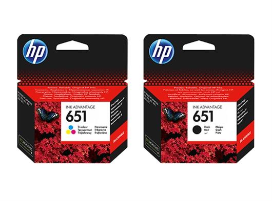 Komplet kartuš HP nr.651 (BK + CMY), original