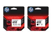 Komplet kartuš HP nr.652 (BK + CMY), original