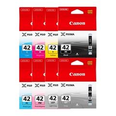 Komplet kartuš za Canon CLI-42 BK/GY/LGY/C/PC/M/PM/Y, original