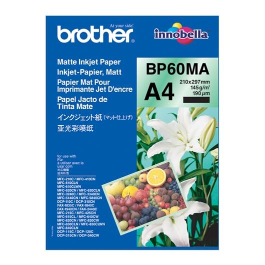 Foto papir Brother BP60MA, A4, 25 listov, 145 gramov
