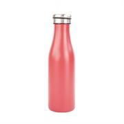 Termo steklenička Bottle&More, 450 ml, rdeča